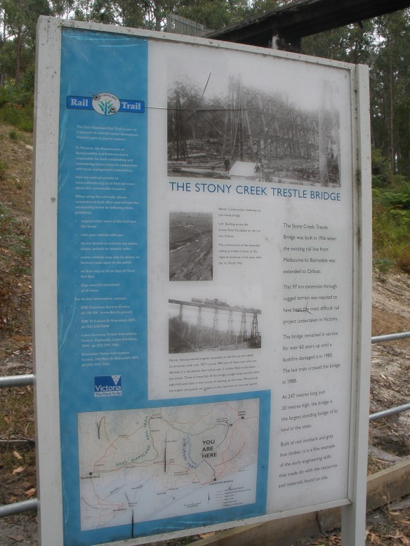 The Stony Creek Trestle Bridge