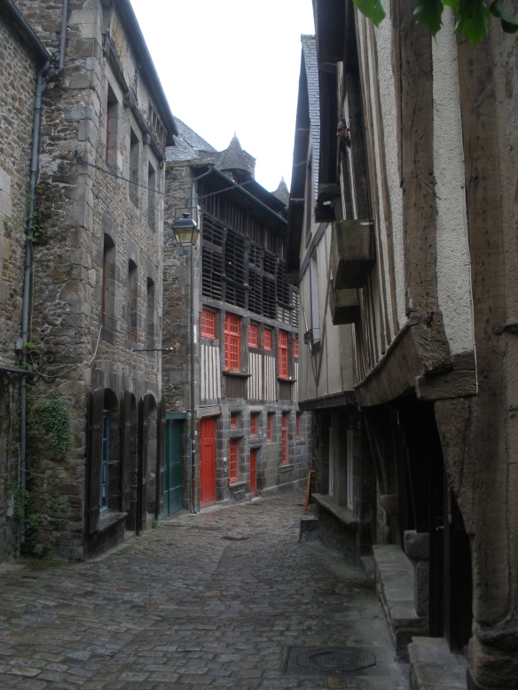 cobbled streets