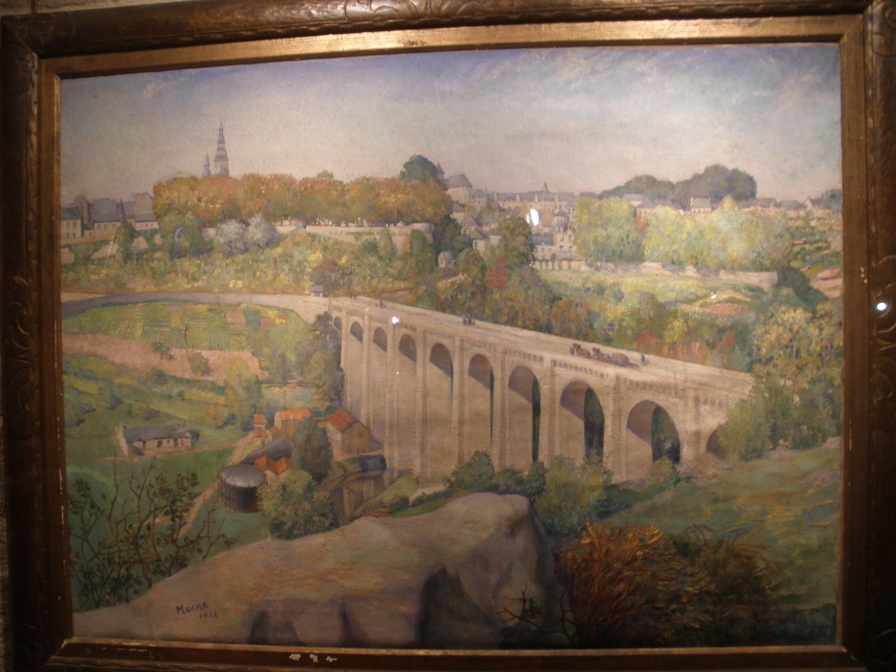 viaduct painting