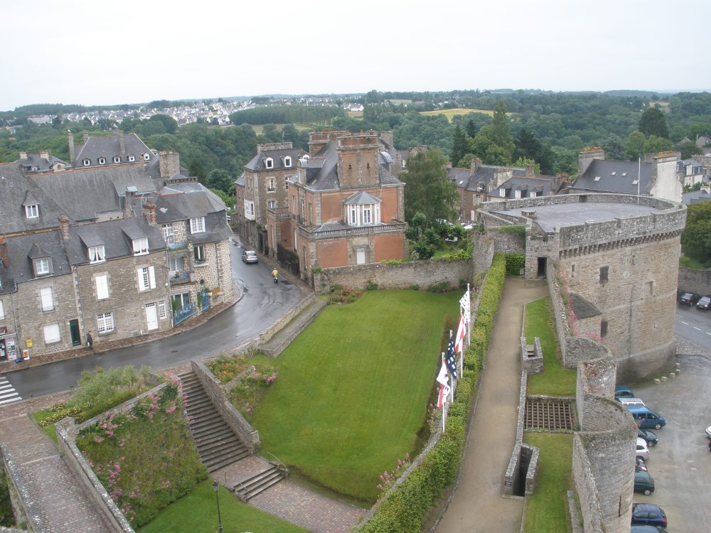 view from the museum.