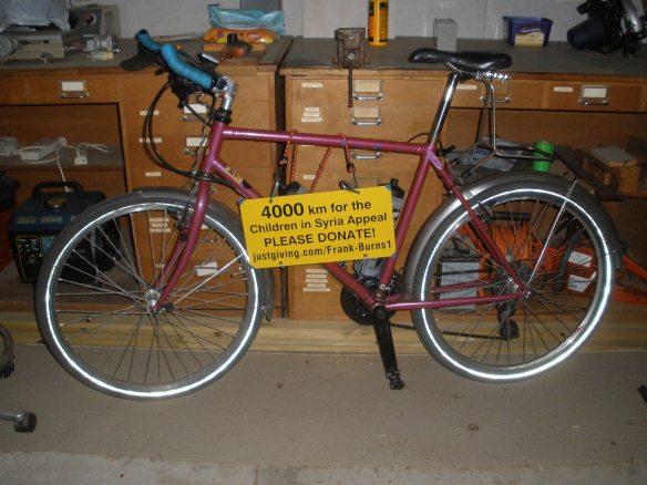 Frank's bike