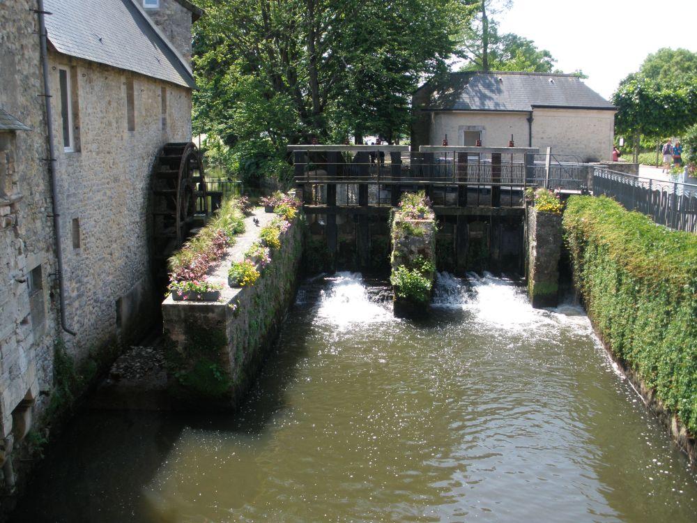 Bayeux town