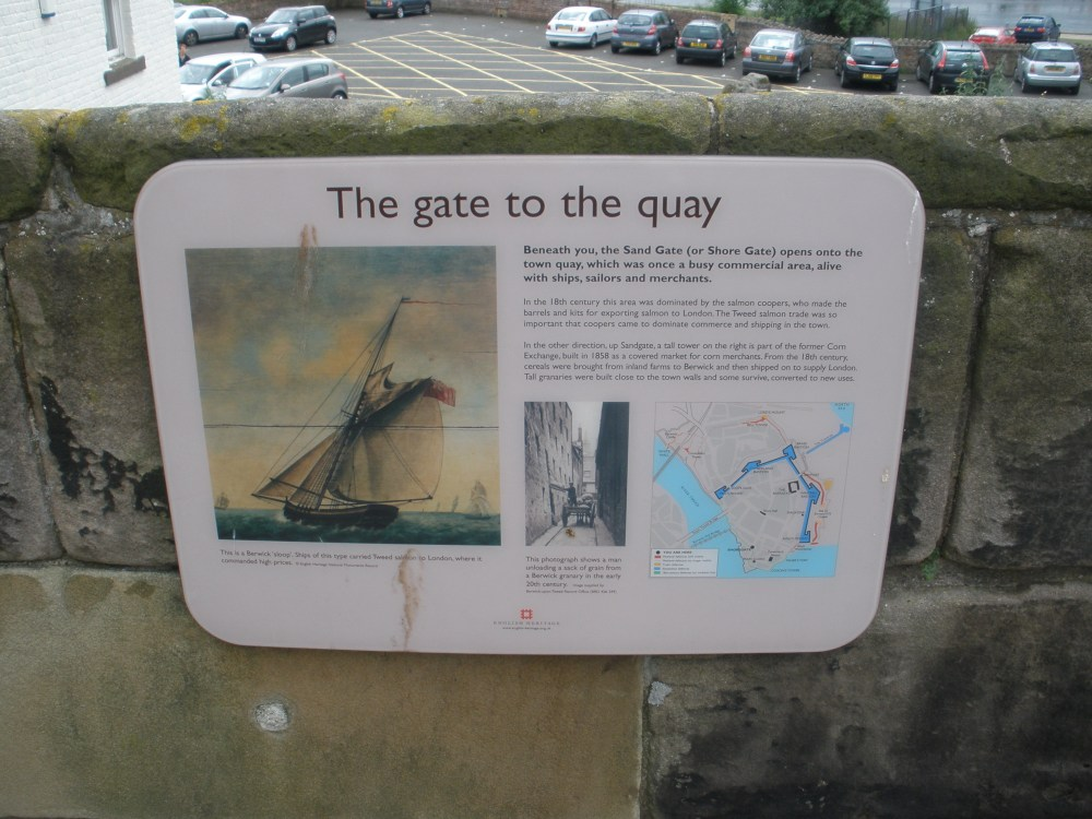 the gate to the quay