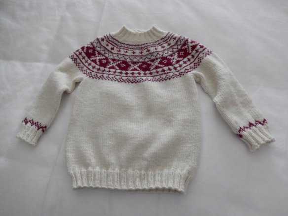 neck down jumper