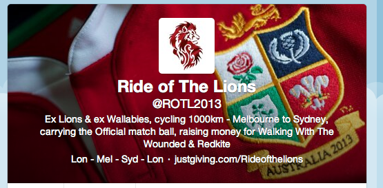 Ride of the Lions