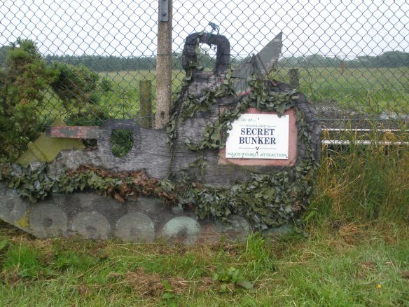 Secret bunker
