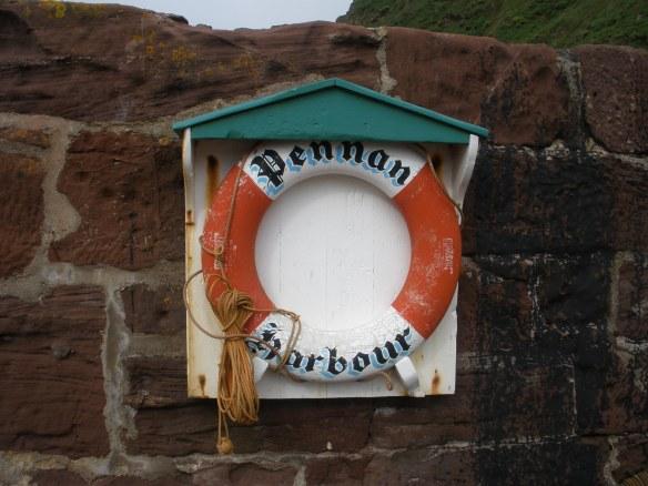Pennan Harbour