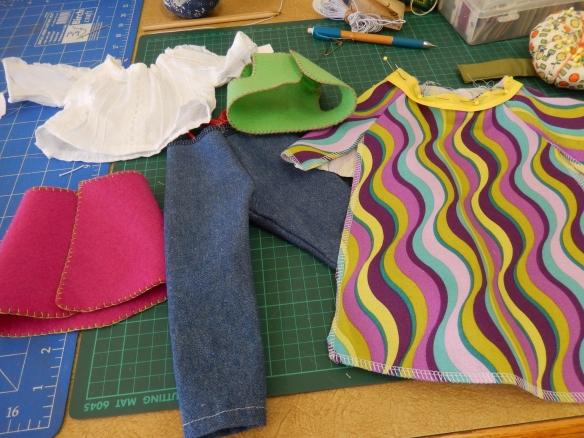 sewed items