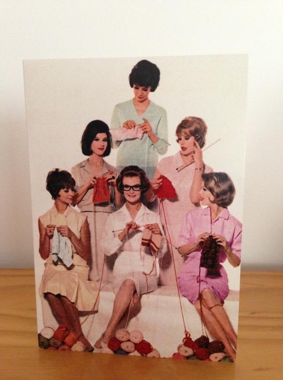knitting card