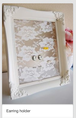 lace in frame