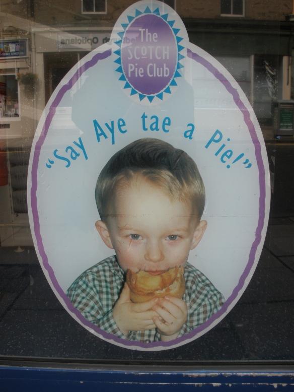 aye tae a pie