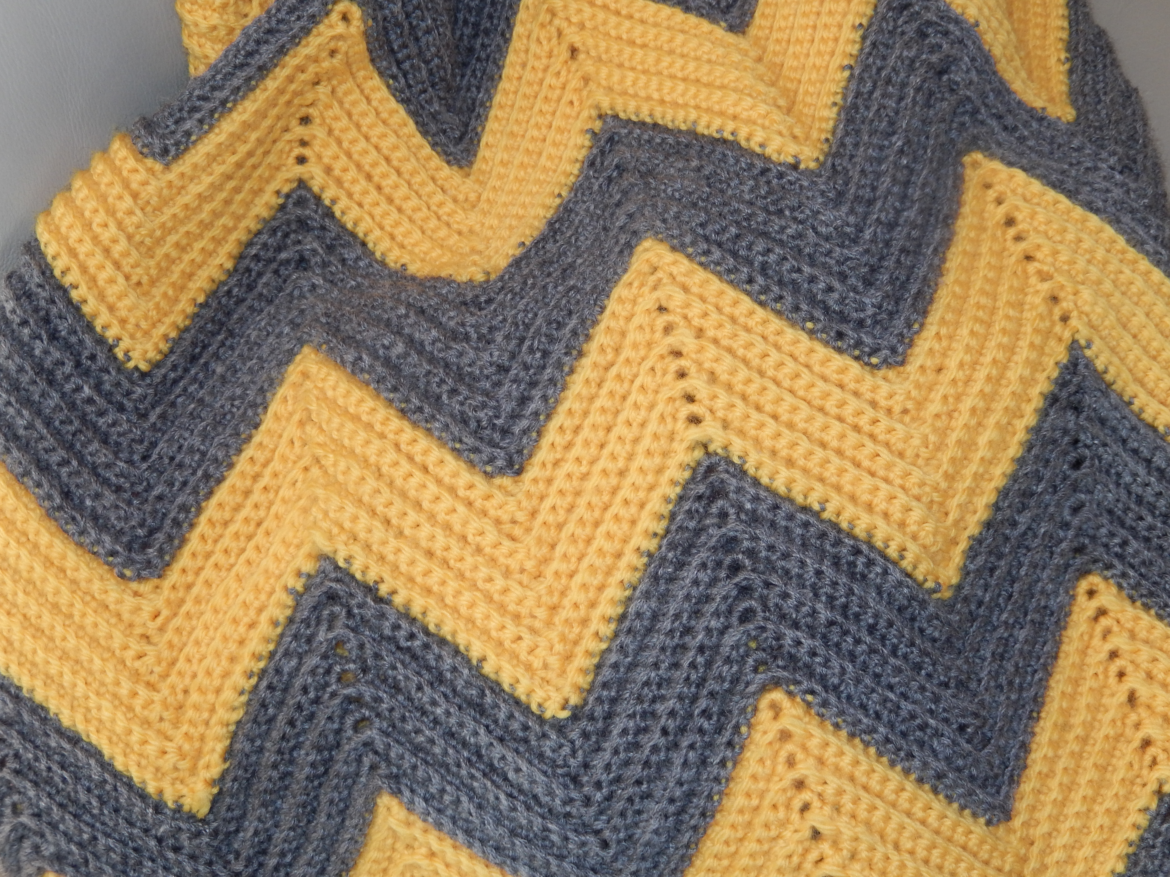 Crochet Patterns Chevron : The colours are actually a bit brighter than shown here but I think ...