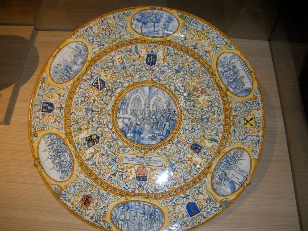 Joan of Act platter