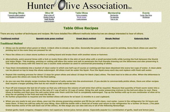 olive curing recipe
