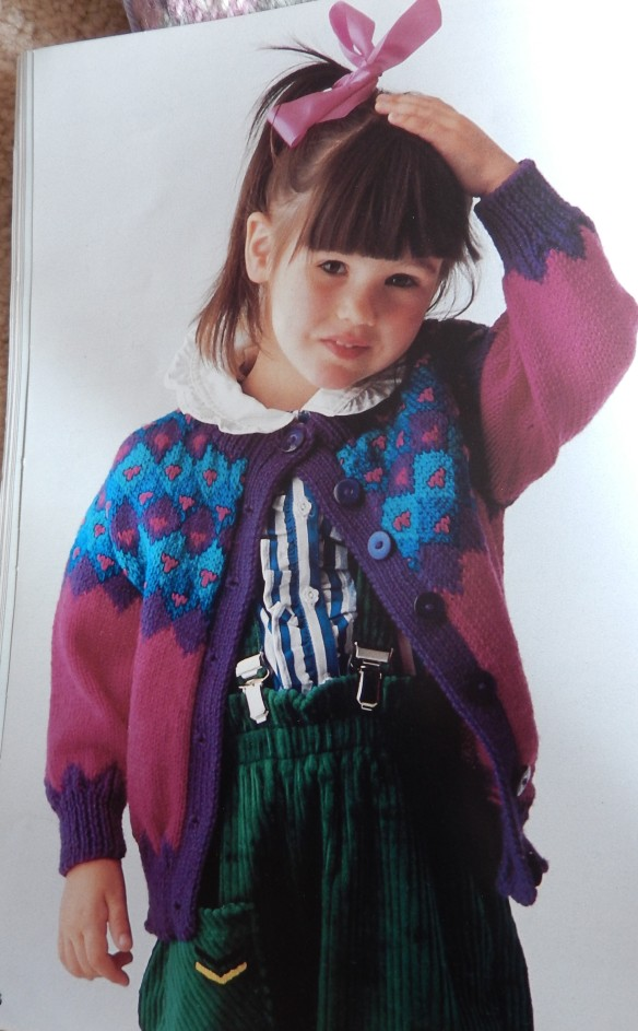 girl's cardigan