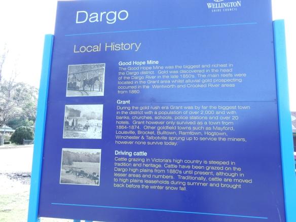 Dargo info