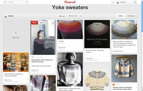 yoke sweaters