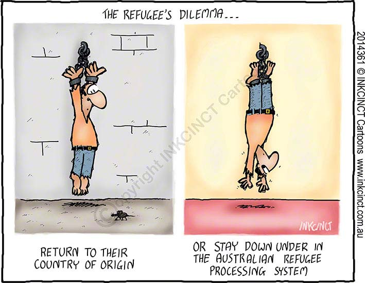 2014-361--the-refugees-dilemma-AUSTRALIA-TORTURE-ASYLUM-SEEKER-POLICY-