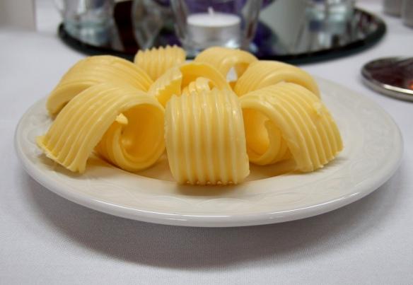 Expert butter curls