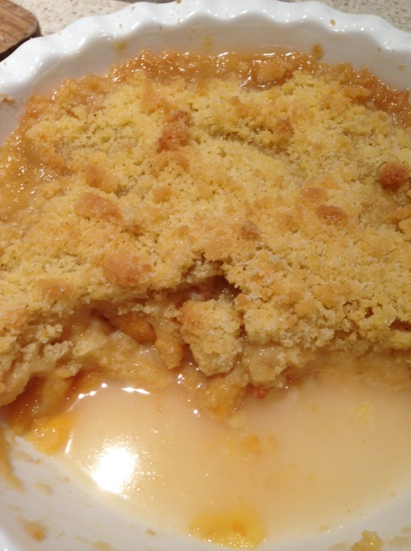 cooked crumble