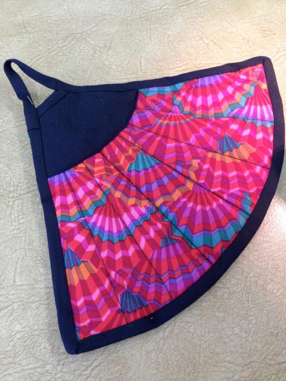 fan shaped potholder