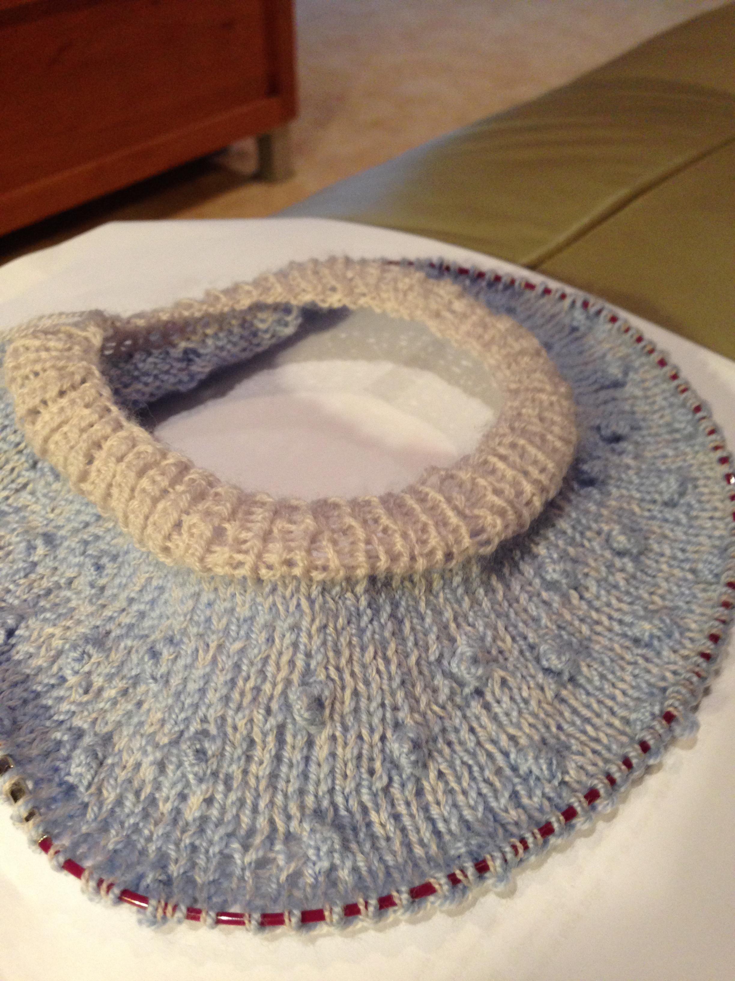 bobble yoke sweater | Gippsland Granny