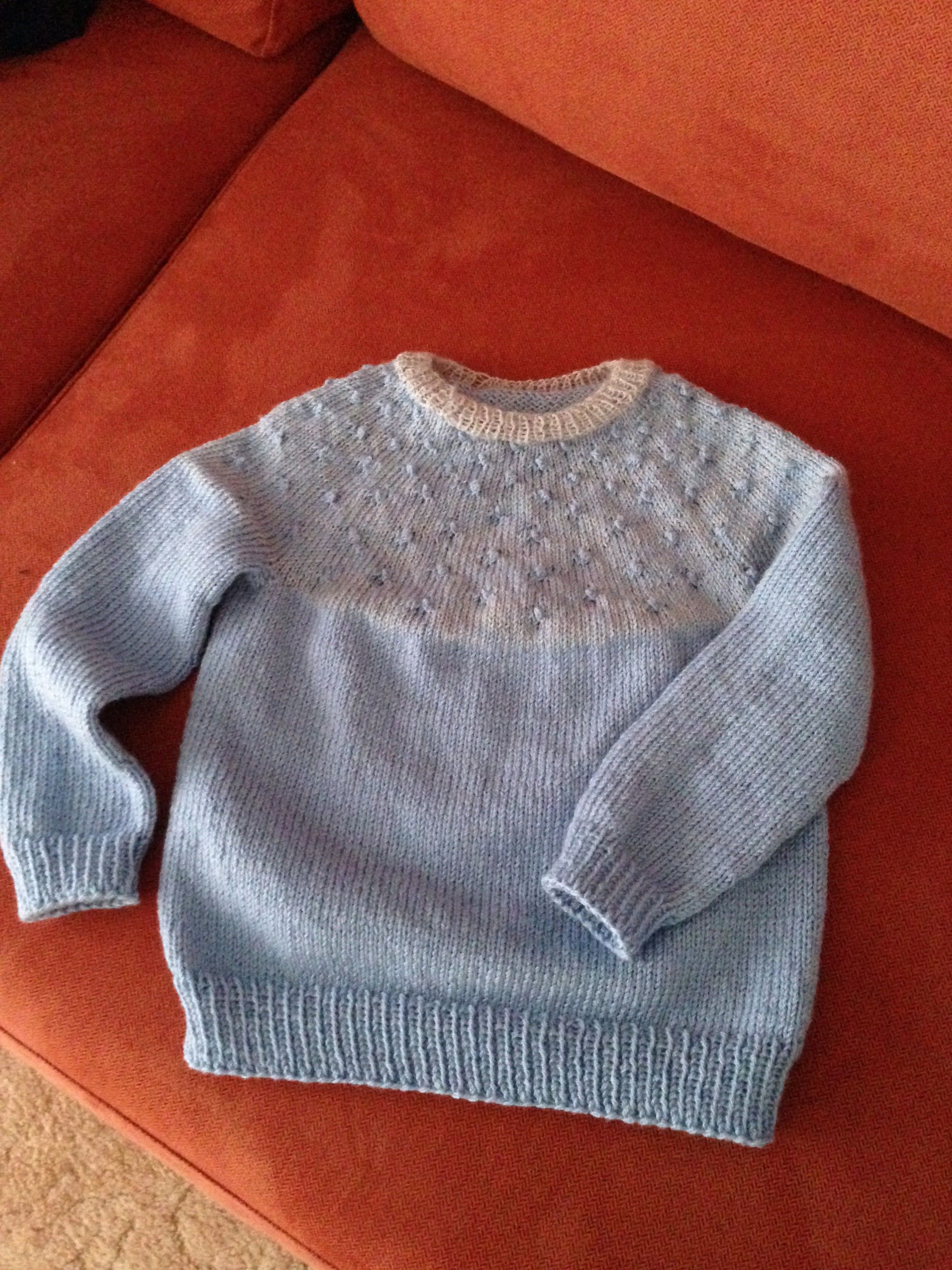 Knitting Patterns For Sweaters On Circular Needles : circular needle knitting Gippsland Granny