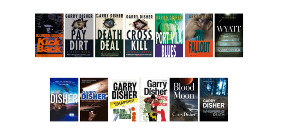 Gary Disher crime novels