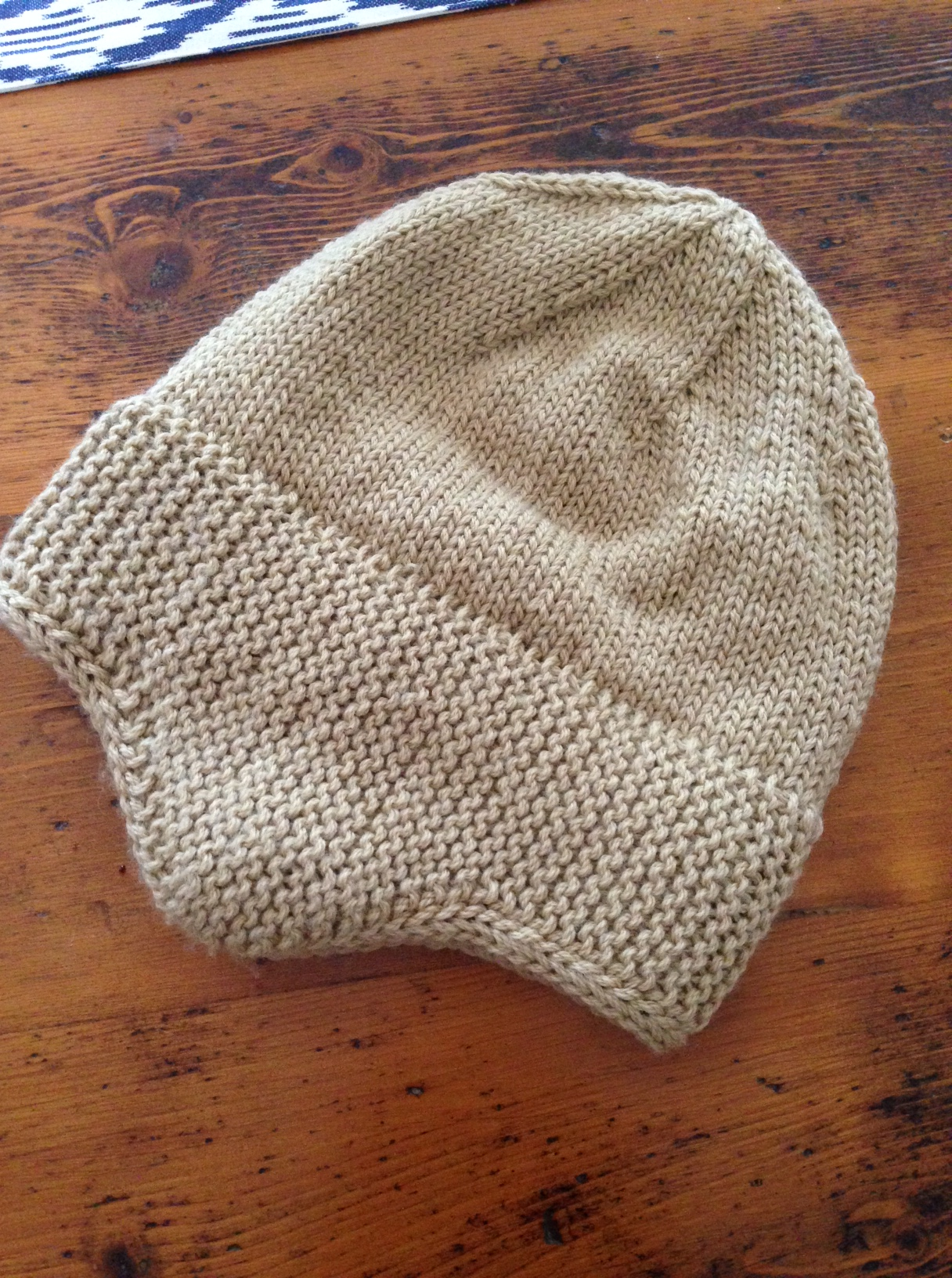This hat was made using a pattern by Kristine Byrnes and the pattern I  found on the Seamen s Church Institute website. 913afbdcff0