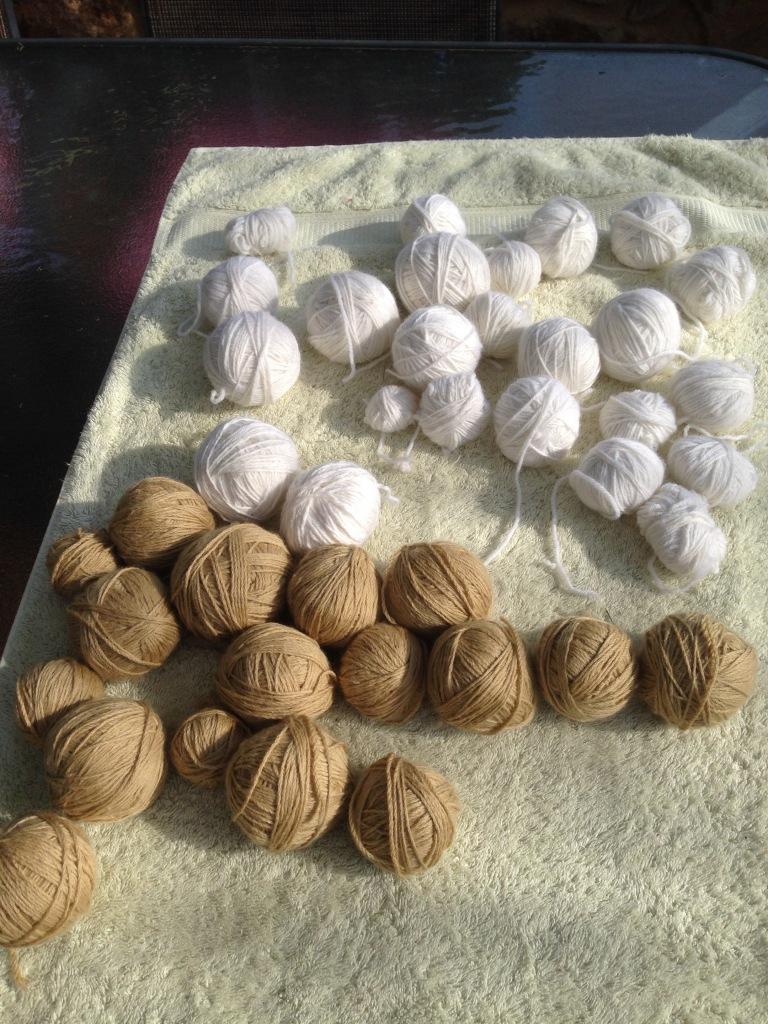 frogged wool