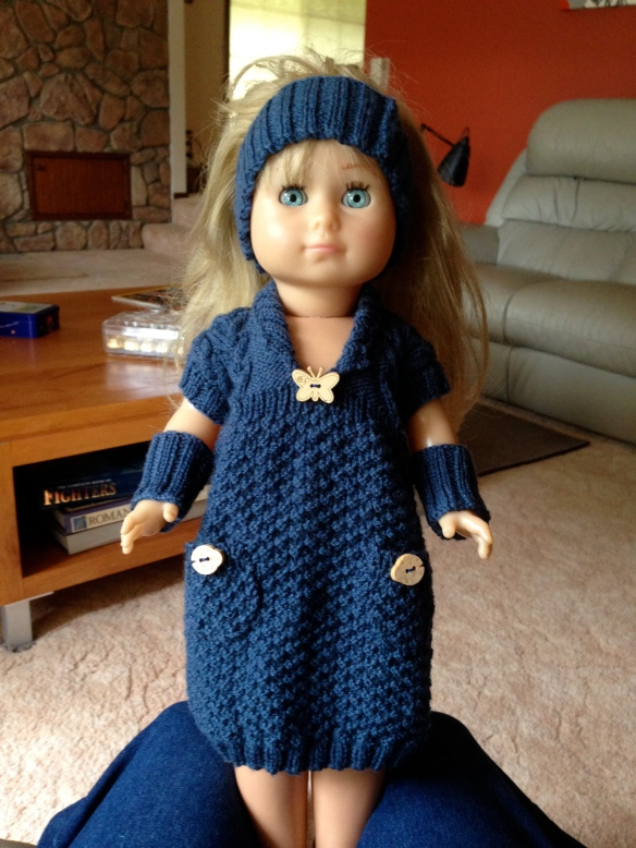 knitted doll clothing