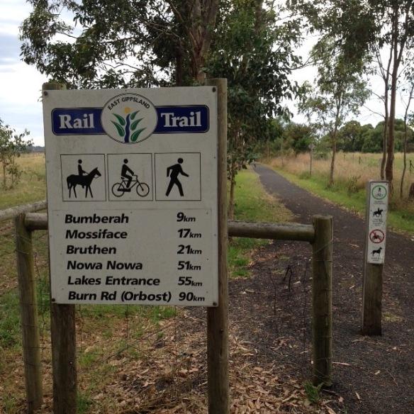 rail trail directions