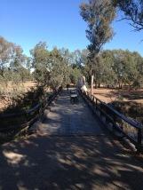 The winery bridge