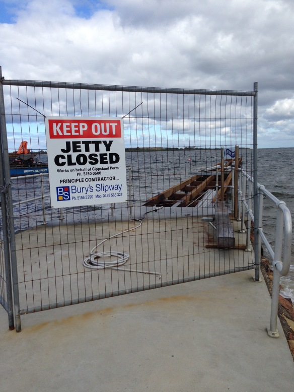 jetty closed