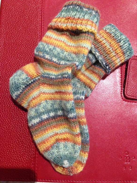 knitted socks 2