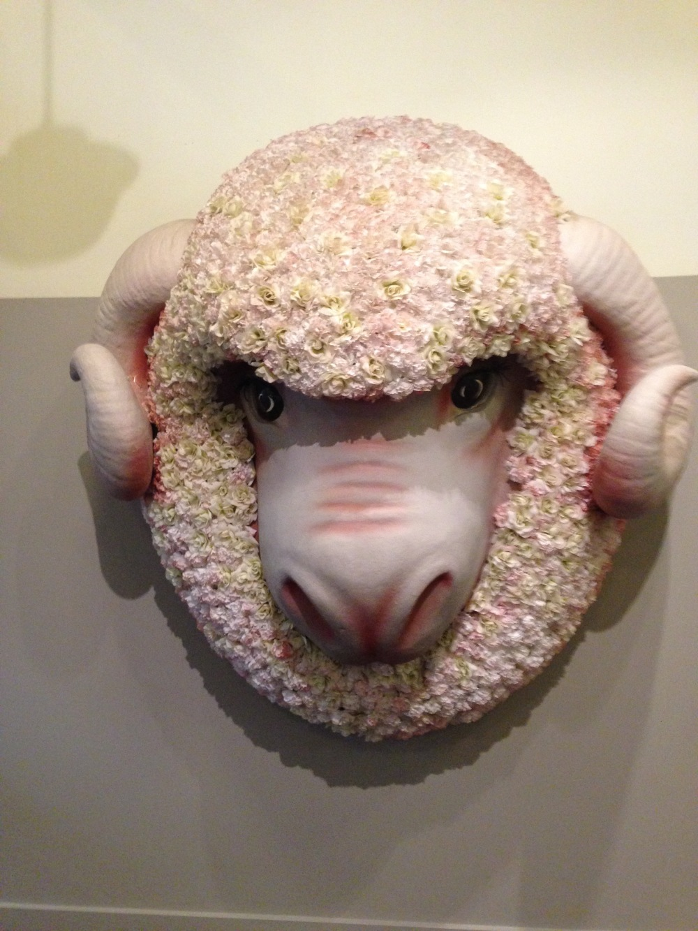 floral sheep