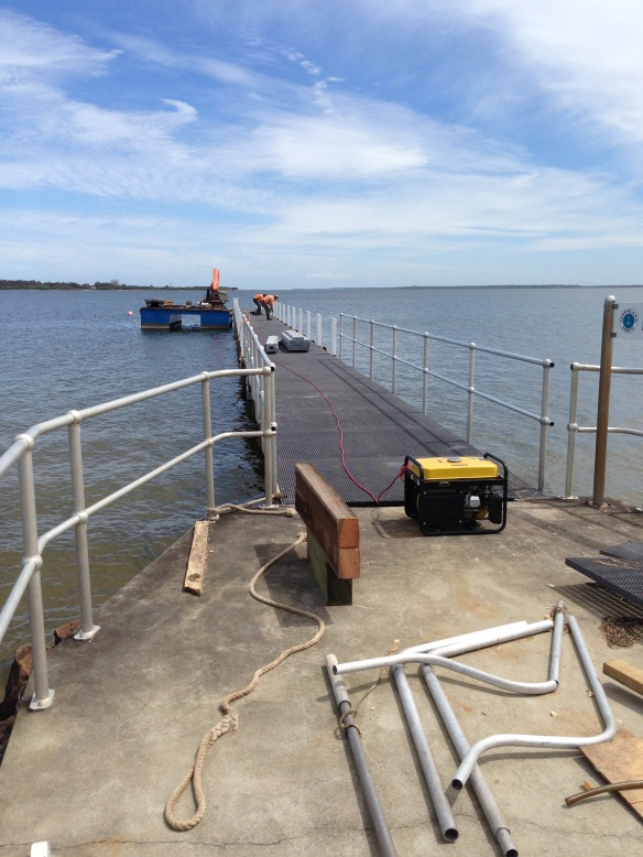 Lake King Jetty upgrade