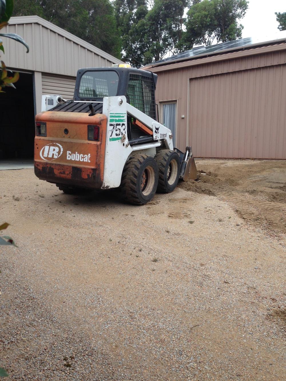 renewing the driveway